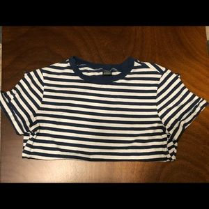 Wild Fable Target Boxy Striped T-Shirt